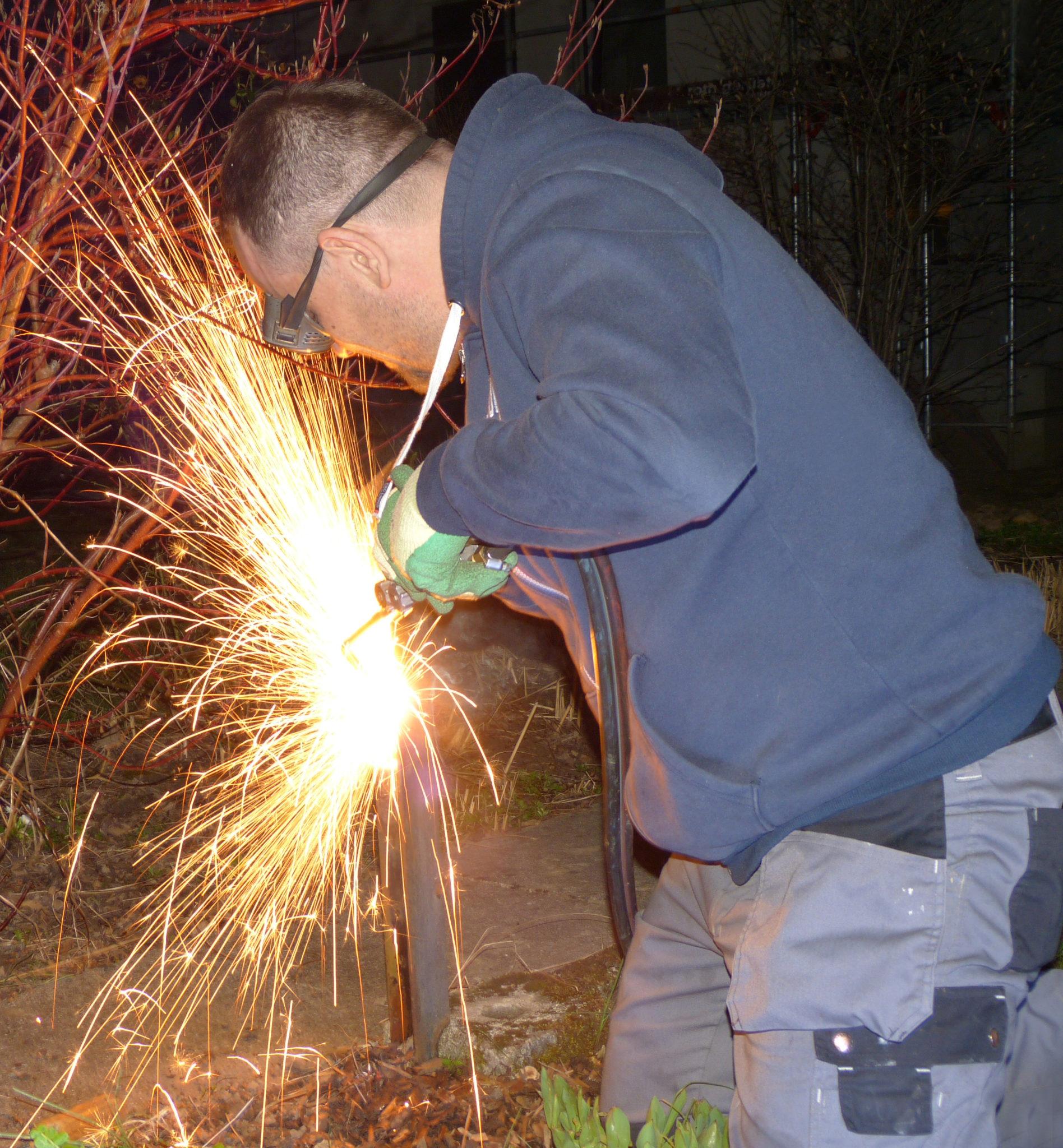Marco bei der Arbeit 04